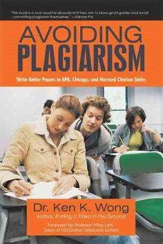 Using sources effectively strengthening your writing and avoiding avoiding plagiarism write better papers in apa chicago and harvard citation styles ccuart Images