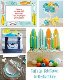 Beach Babe Baby Shower: Surfs Up! | Flickr - Photo Sharing!