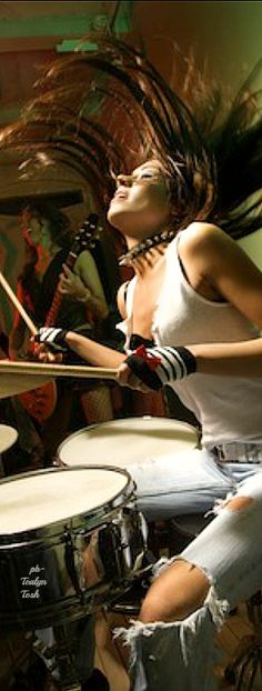 Girls on Drums