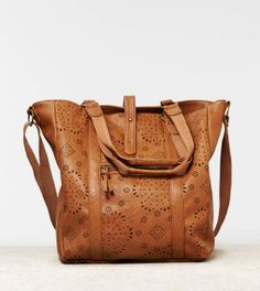 AEO Faux Leather Tote Bag... it's between this one and vera bradley