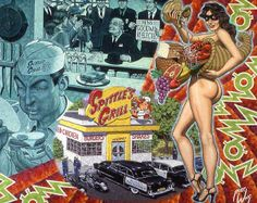 View Expectorating In A Fast Food Patrons Double Burger Deluxe by Robert Williams on artnet. Browse more artworks Robert Williams from Tony Shafrazi Gallery. Robert Crumb, Robert Williams, Sexy Drawings, Garage Art, Artwork Images, Lowbrow Art, Pop Surrealism, Fantastic Art, Comics