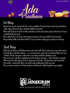 Ada Pradham - Recipe