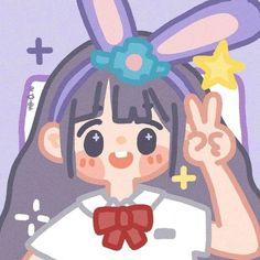 Cute Little Drawings, Cute Cartoon Drawings, Cute Cartoon Girl, Cute Kawaii Drawings, Cartoon Art Styles, Kawaii Art, Cute Doodle Art, Cute Doodles, Cute Art