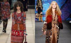 El Nuevo Boho, la tendencia de moda del invierno 2015 que reinventa el estilo folk y bohemio