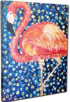 Accessories For Sale | Flamingo Canvas Giclee 16 x 20, free shipping! | ArtsyHome