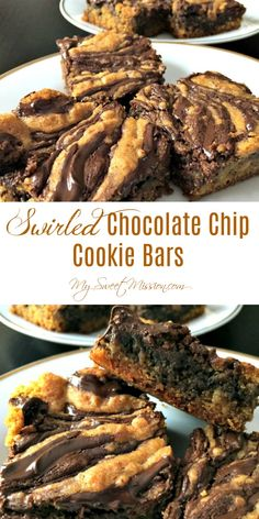 Our easy, but delicious, Swirled Chocolate Chip Cookie Bars taste like the best chocolate chip cookies you have ever had, but in impressive cookie bars!