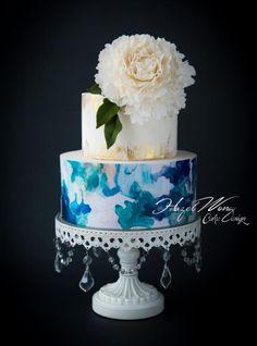 Modern Chic  - Cake by Hazel Wong Cake Design