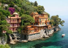 Bay near Portofino, Italy #portofino