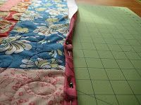 Quick Quilt Binding  and other quilting tutorials @ Quilting in the Rain blog. This one is about binding with the backing fabric.