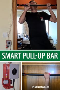 Nikolaos Babetas designed this smart pull-up bar to dispense a treat (or Tic Tac) for every pull up you do. #Instructables #electronics #technology #Arduino #Fusion360