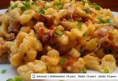 TOP 12 recept, ha zárva a közért Hungarian Cuisine, Hungarian Recipes, Hungarian Food, In Defense Of Food, Austrian Recipes, Good Food, Yummy Food, Food Lab, Pub Food