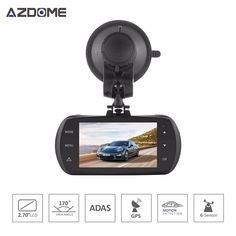 Azdome DAB201 Car DVR Camera Ambarella A12 Chip HD 1440p 30fps Video Recorder G-sensor HDR ADAS Cycle Recording Dash Cam H40 -- AliExpress Affiliate's buyable pin. View the item in details on www.aliexpress.com by clicking the VISIT button
