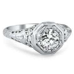 The Chiffon Ring #BrilliantEarth #Diamond