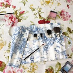 DIY craft project: Sew your own luxury makeup brush holder - Day Bag How to - handbag.com