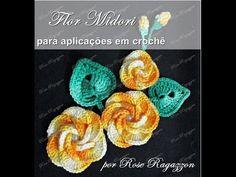Flor Midori em Crochê - YouTube