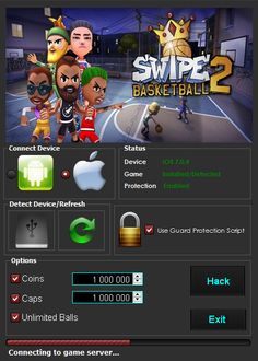 Download Swipe Basketball 2 Hack Tool