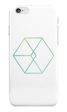 EXO // WATERCOLOR LOGO MINIMALIST by peachy peachy Framed Prints, Canvas Prints, Art Prints, Watercolor Logo, Glossier Stickers, Iphone Wallet, Iphone Case Covers, Ipad Case, Exo