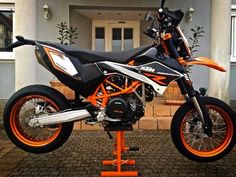 a dream never come true! Ktm Motorcycles, Enduro Motorcycle, Moto Bike, Motocross, Ktm 690 Smc, Ktm Supermoto, Bike Style, Dirtbikes, Street Bikes