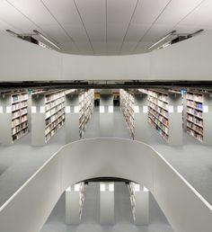 Library in Berlin – human brain