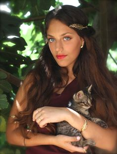 Anna Goddess Headband.