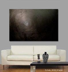Forever - Black Modern Painting by Sharon Cummings. #Black #Blackart #Art