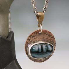 Copper pendant bail idea