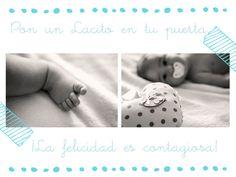 Lacitos On The Door #felicidad #bebes #nacimiento
