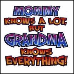 Someday I'll be a Grandma. : )