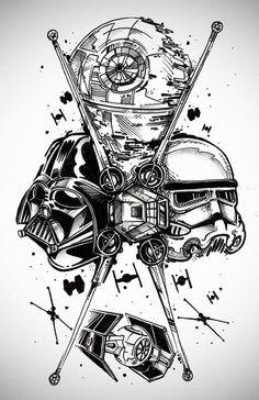 Star Wars tattoo design