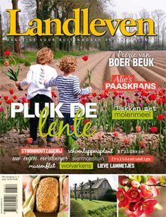 De cover van Landleven 3 2014: Pluk de Lente!