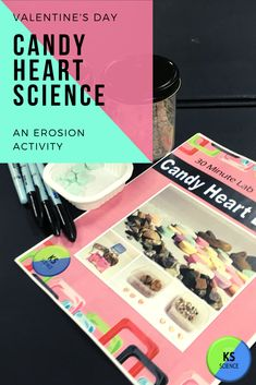 Get out those candy hearts and start investigating.  This fun hands-on lab introduces students to erosion and weathing in a fun engaging way.  Kids will have a great time using candy hearts for a Valentine themed science experiment.  Teacher guide and reading passages included. Earth Science Experiments, Science Fair Projects, Fun Activities For Kids, Science Activities, Science Resources, Valentine Candy Hearts, Weathering And Erosion, Fourth Grade Science, Upper Elementary Resources