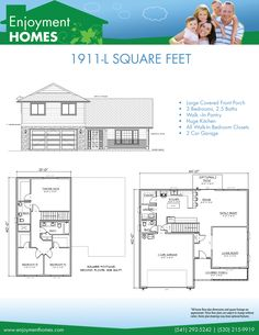 images about House plans on Pinterest   House plans  Home       House Plans  Mckinley    Enlarge  Web Site  Website  Internet Site  Site