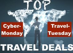 Snag the top travel deals on Black Friday, Cyber-Monday and Travel Tuesday. Best Travel Deals, Travel Tips, Cyber Monday Travel Deals, Tuesday Deals, Norwegian Cruise Line, Best Black Friday, Shore Excursions, Book Signing, Buy Tickets