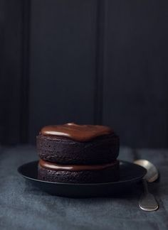 What Katie Ate » Individual Chocolate Mud Cakes