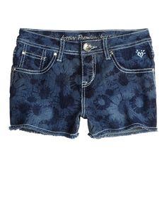 Justice Just For Girls   Justice just for girls / Allover Floral Printed Denim Shorts   Bottoms ...