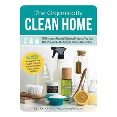 Want to make the cleaners for your spring cleaning? Pre-order The Organically Clean Home: 150 Everyday Organic Cleaning Products You Can Make Yourself--The Natural, Chemical-Free Way by Clean Mama Cleaners Homemade, Diy Cleaners, Household Cleaners, Household Tips, Green Cleaning, Spring Cleaning, Limpieza Natural, Hardwood Floor Cleaner, Hardwood Floors