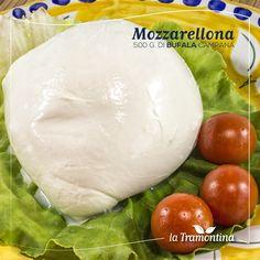 #Mozzarellona di #Bufala Campana - Richiedila in tutti i #puntivendita #LaTramontina #Mozzarella #food #foodie