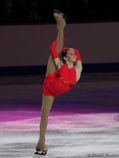 Julia Lipnitskaya Red figure skating dress inspiration for Sk8 Gr8 Designs