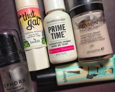 Time to prime-my favourite face and eye primers.
