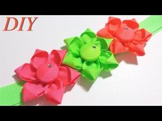 How To Make Hair Bows DIY #120 Baby Headband Tutorial - YouTube
