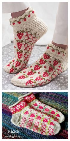 Knitting Socks, Free Knitting, Free Crochet, Crochet Baby Shoes, Crochet Slippers, Fair Isle Knitting Patterns, Crochet Patterns, Scrap Yarn Crochet, Baby Shoes Pattern