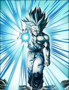 Gohan One Hand Kamehameha - Dragon Ball Z
