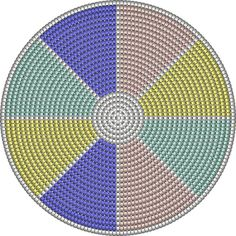 """The location where building and construction meets style, beaded crochet is the act of using beads to decorate crocheted products. """"Crochet"""" is derived fro Crochet Cross, Crochet Chart, Crochet Home, Bead Crochet, Tapestry Crochet Patterns, Crochet Stitches Patterns, Crochet Designs, Stitch Patterns, Wiggly Crochet"""