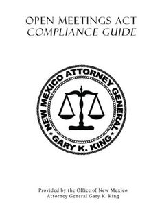 New Mexico Attorney General Ipra Compliance Guide