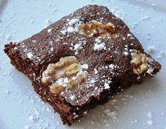 Low Calorie Brownies on Pinterest