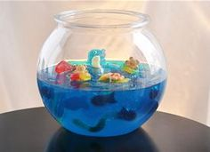 Jelly Shot Gummy Fish Bowl