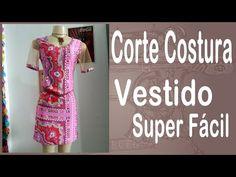 Curso Corte e Costura passo-a-passo Vestido Super Fácil de Fazer! - YouTube