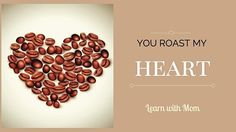 Good morning with a roasted heart coffee. :) @learnwdmom @marketinggem73 #coffee #coffeebeans #morning #heart #brown