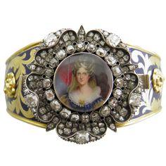 1STDIBS.COM Jewelry & Watches - Rundell Bridge - RUNDELL BRIDGE Royal Presentation Bangle of Queen Adelaide - DK Bressler & Co. Inc.