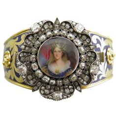 1STDIBS.COM Jewelry & Watches - Rundell Bridge - RUNDELL BRIDGE Royal Presentation Bangle of Queen Adelaide - DK Bressler & Co. Inc.